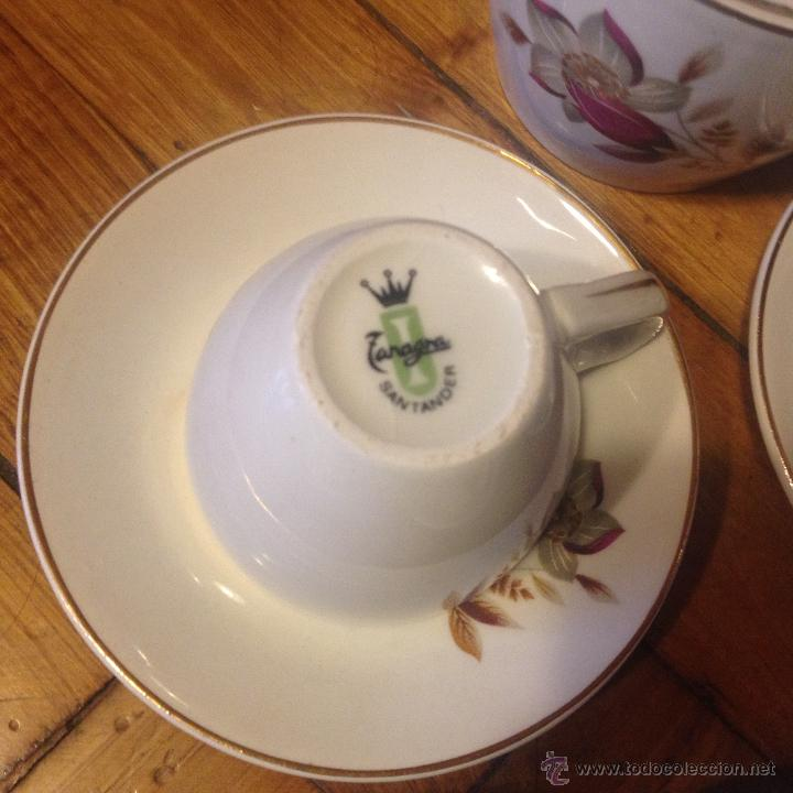 Vintage: ZANAGRA SANTANDER JUEGO DE CAFE - Foto 3 - 46524709