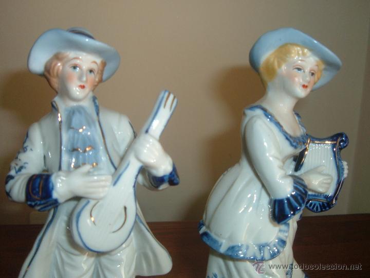 Vintage: Pareja de figuras - Foto 2 - 46937587