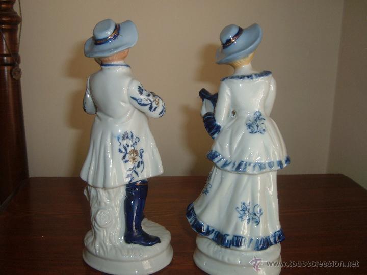 Vintage: Pareja de figuras - Foto 3 - 46937587