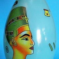 Vintage: VINTAGE PERFUMERO DE CRISTAL SOUVENIR. MOTIVOS EGIPCIOS. NEFERTITI - JEROGLIFICO. EGIPTO. Lote 46973775