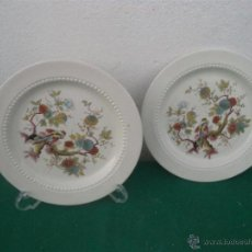 Vintage: 2 PLATOS ORIENTALES. Lote 47026169