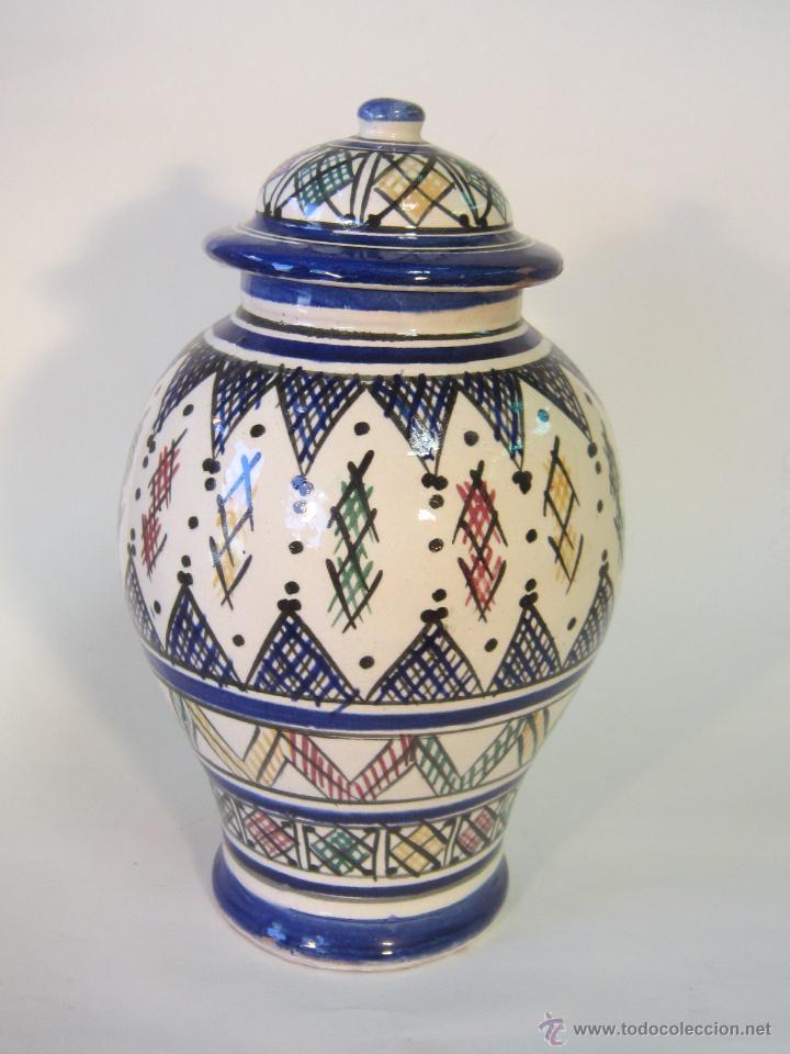 tibor en ceramica marroqui comprar jarrones y floreros