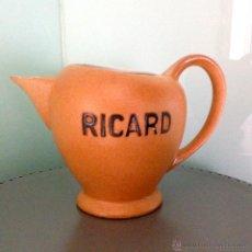 Vintage: JARRA DE LICOR RICARD CON SELLO EN BASE ( ATELIERS CERAMIQUE RICARD MADE IN FRANCE ) AÑOS 60. Lote 47213870