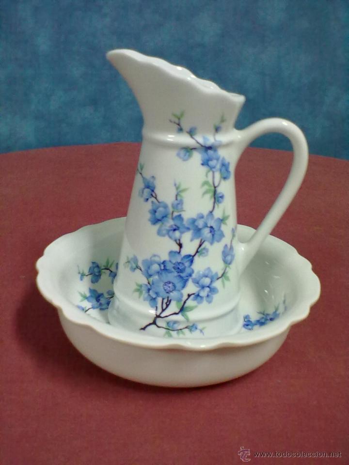 PALANGANA JARRA JOFAINA (Vintage - Decoración - Porcelanas y Cerámicas)