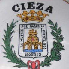 Vintage: PLATO CIEZA CISTERCIENSES DE LA PALMA, COROS,DANZAS CIEZA, POR PASAR LA PUENTE NOS DIERON LA MUERTE. Lote 47239469