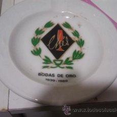 Vintage - PLATO BAR CHES ALMAGRO 25 ANIVERSARIO - 47575096