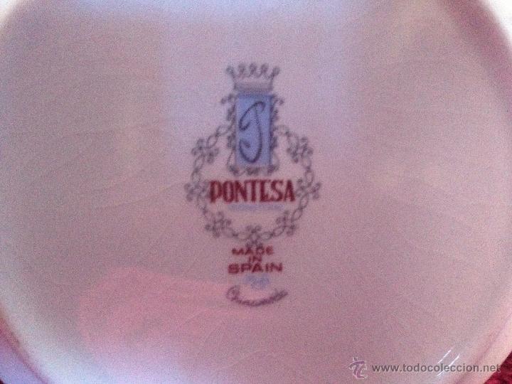 Vintage: JUEGO DE CAFÉ AÑOS 60 PORCELANA PONTESA - Foto 4 - 47610502