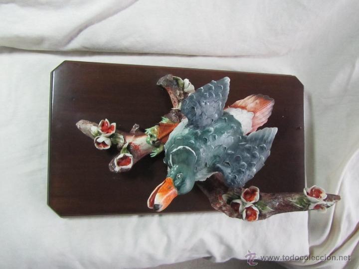 Vintage: Figura porcelana pato pisando rana Sartori - Foto 2 - 47962350