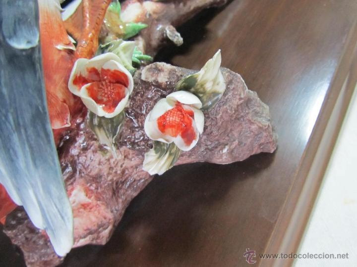 Vintage: Figura porcelana pato pisando rana Sartori - Foto 11 - 47962350