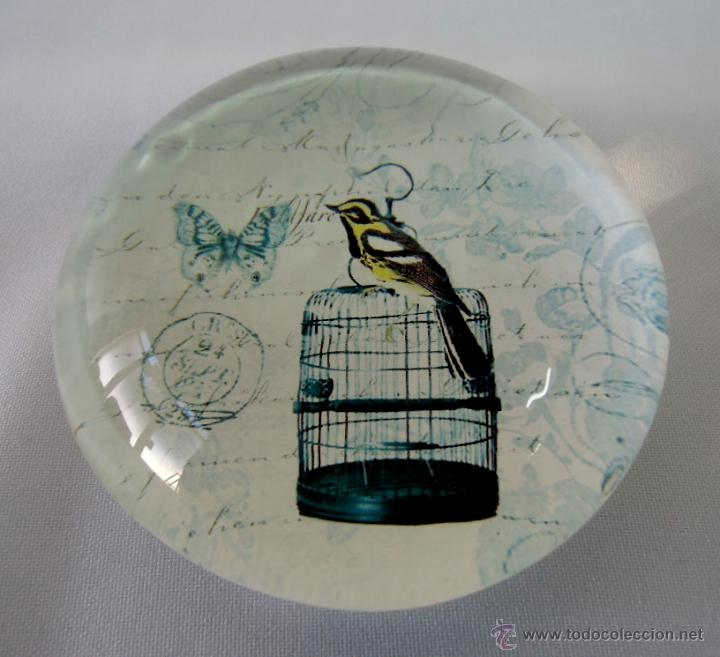 PISAPAPELES VINTAGE CRISTAL PÁJARO - EDICIÓN COLECCIONISTA (Vintage - Decoración - Cristal y Vidrio)