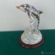 Vintage - figura delfin porcelana - 48086505