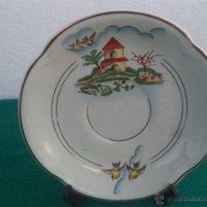 Vintage: PLATO PORCELANA. Lote 48158434