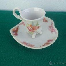 Vintage: TAZA Y PLATO. Lote 48160068