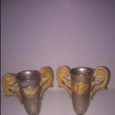 Vintage: PEQUEÑOS JARRONES ANTIGUOS. Lote 48178093