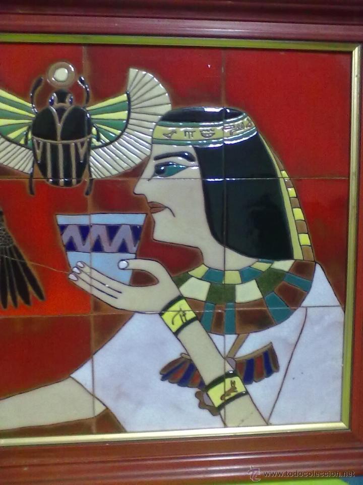 paño dioses egipcios panel 15 azulejos enmarcad - Comprar Porcelana ...