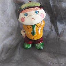 Vintage: FIGURA VINTAGE AÑOS 70 PINTADO A MANO. Lote 48339267