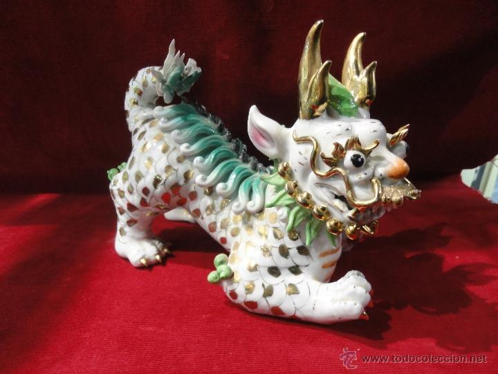 FURIA CHINA DE PORCELANA (Vintage - Decoración - Porcelanas y Cerámicas)