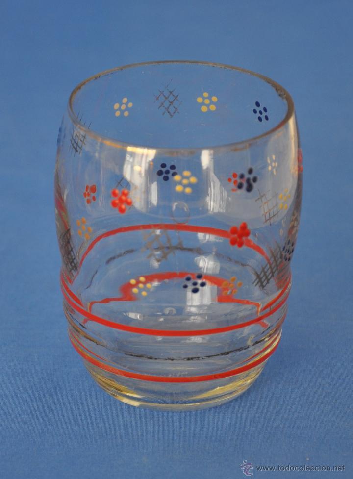 Vintage: Juego de agua de cristal soplado. - Foto 4 - 48704337