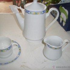 Vintage: JUEGO DE CAFE PORCELANA. Lote 48755496
