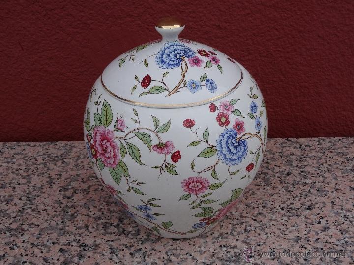 TIBOR DE PORCELANA (Vintage - Decoración - Porcelanas y Cerámicas)