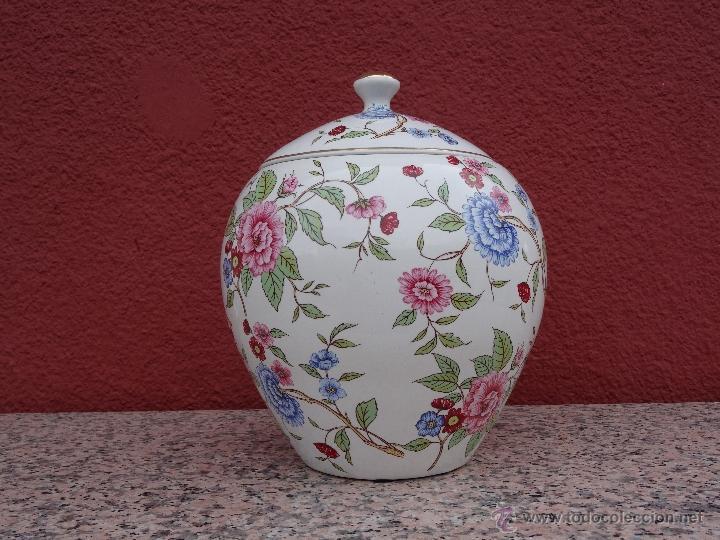 Vintage: Tibor de porcelana - Foto 2 - 48933656