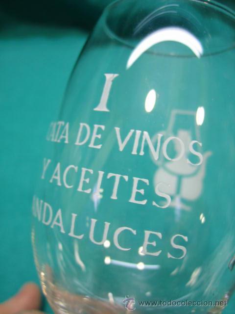 Vintage: Copa de cristal. I cata de vinos y aceites Andaluces. Cordoba - Foto 2 - 49038131