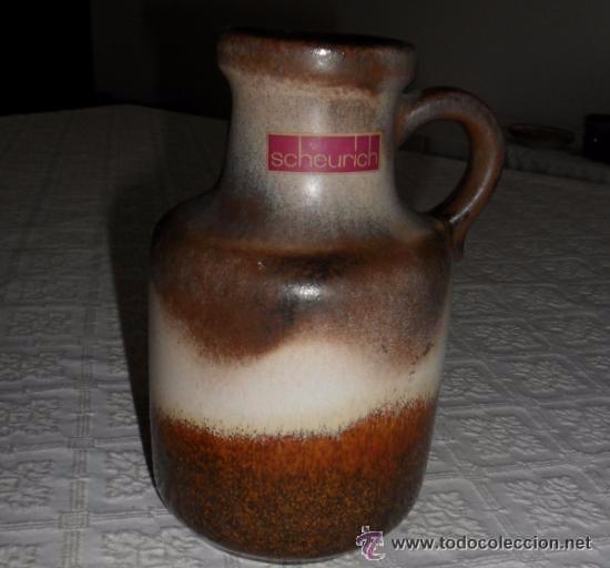 CERÁMICA ALEMANA DE COLECCIÓN - JARRA VINTAGE (Vintage - Decoración - Porcelanas y Cerámicas)