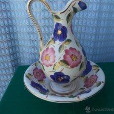 Vintage: JARRA Y PALANGANA DE CERAMICA. Lote 49300378