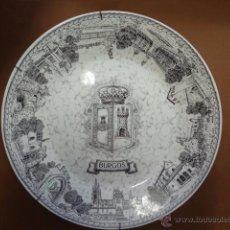 Vintage: PLATO CERAMICA - PARA COLGAR EN PARED - BURGOS - PB2. Lote 49420818