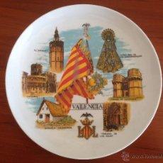 Vintage: PLATO SOUVENIR DE VALENCIA, AÑOS 70-80. Lote 49475066