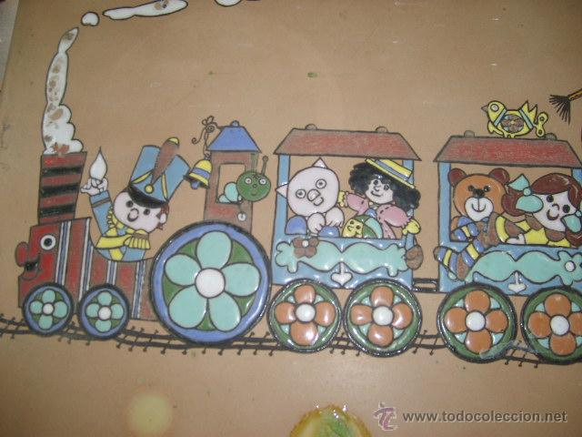 Vintage: azulejo esmaltado - Foto 2 - 49688886