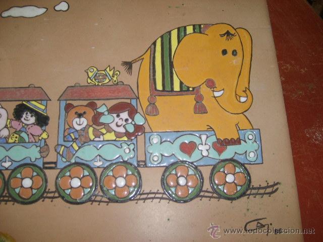 Vintage: azulejo esmaltado - Foto 3 - 49688886