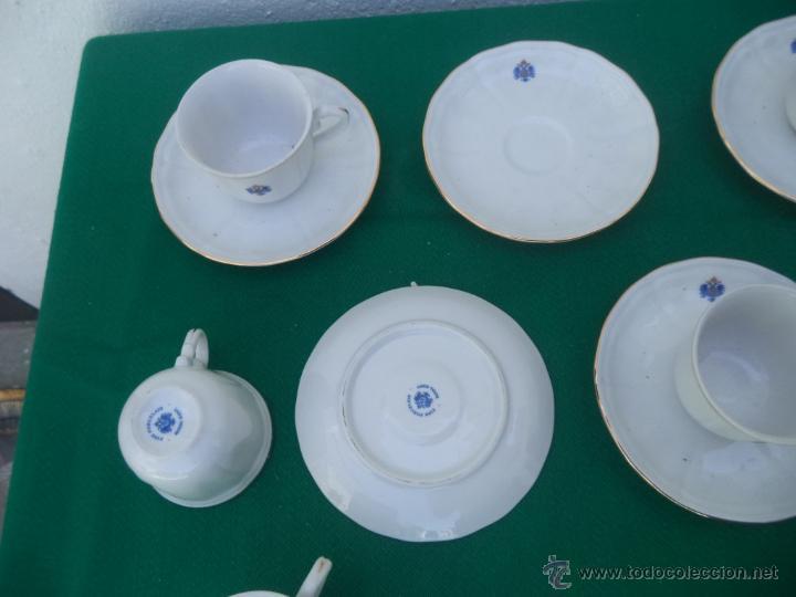 Vintage: 6 tazas y platos porcelana - Foto 2 - 49733238