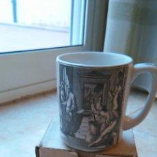 Vintage: ANTIGUA TAZA PROMOCIONAL DE CAFÉS MONKY -- EN SU CAJA ORIGINAL -- AÑOS 60??. Lote 49764318