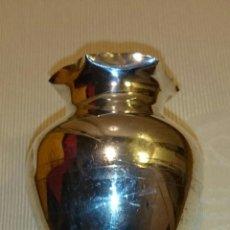 Vintage: PRECIOSA JARRA - FLORERO - TINAJA DE PLATA DE LEY CON CONTRASTE - 1210. Lote 49846286