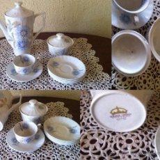 Vintage: PORCELANA PONTESA JUEGO DE CAFE. Lote 50028553