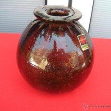 Vintage: BOTELLA DE CRISTAL ARTIFOC MALLORCA. Lote 50061054