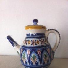 Vintage: PRECIOSO JARRON ANTIGUO SANGUINO. Lote 50197635