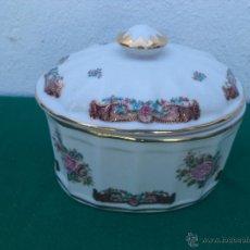 Vintage: BOMBONERA PORCELANA LIMOGES. Lote 50214531