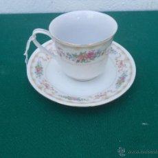Vintage: TAZA Y PLATO. Lote 50235537