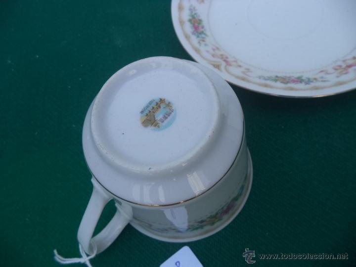Vintage: taza y plato - Foto 2 - 50235537