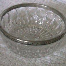 Vintage: CENTRO MESA FRUTERO CRISTAL ROCA. Lote 50255157