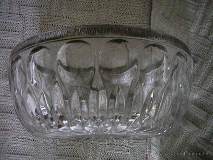 Vintage: centro mesa frutero cristal roca - Foto 4 - 50255157