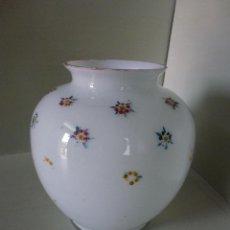 Vintage: JARRON DE CRISTAL, TIPO OPALINA.. Lote 50379280