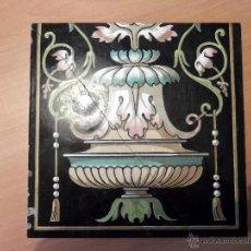 Vintage: MOSAICO MINTON'S LONDON AÑO 1900 ART NOVEAU. Lote 50573880