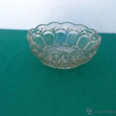 Vintage: CUENCO DE CRISTAL TALLADO. Lote 50646011