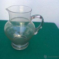 Vintage: JARRA DE AGUA CRISTAL SOPLADO. Lote 50646024