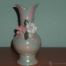 Vintage: PRECIOSO JARRON EN VIVOS COLORES. Lote 50706813