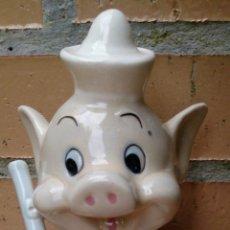Vintage: FIGURA PORCELANA VINTAGE WALT DISNEY PRODUCTIONS CERDO CERDITO PIG. Lote 51075255