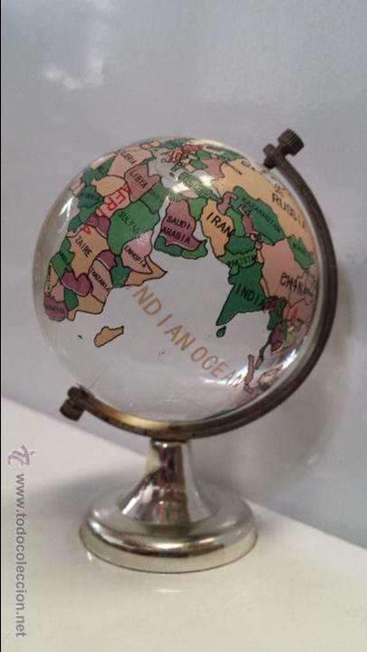 globo terrqueo bola del mundo bola de cristal macizo envo gratis a espaa